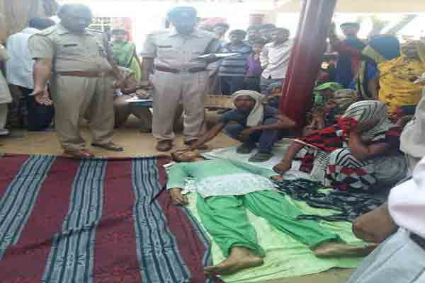 Police fear that the young woman embraced death in mainpuri - Mainpuri News in Hindi