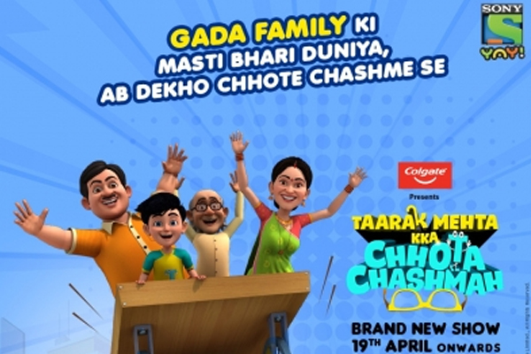 Taarak Mehta Kka Chhota Chashmah title track narrates antics of characters - Television News in Hindi