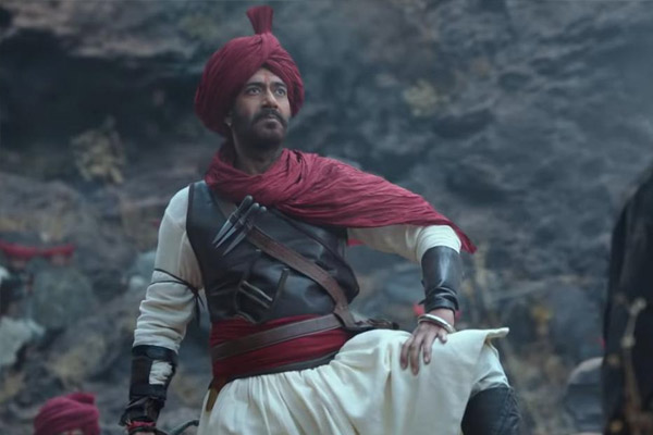 Tanhaji Box Office Collection Day 3: Tanaji made a fabulous earning on Sunday - Bollywood News in Hindi