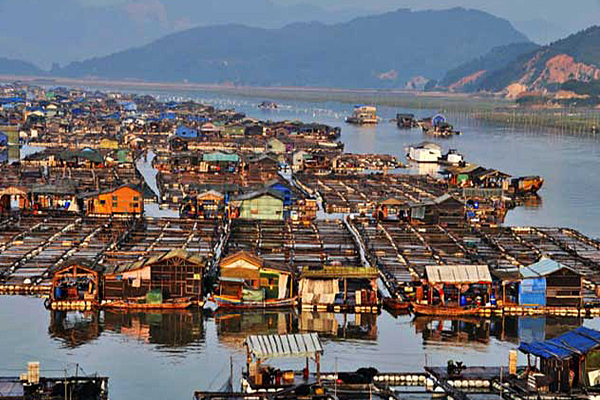 Tanka Community Of China Lives On Floating Villege - Weird Stories in Hindi