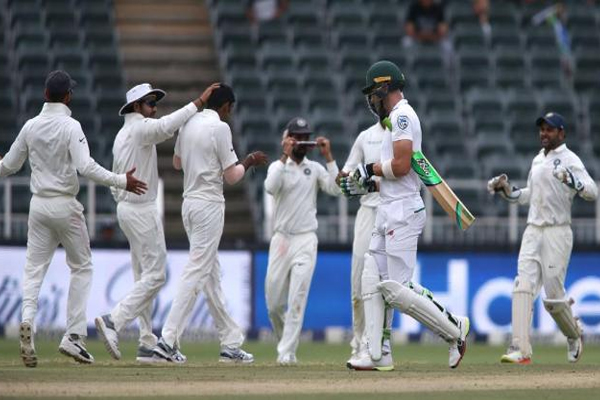 South African all out on 194 and India strong start in second innings - Cricket News in Hindi