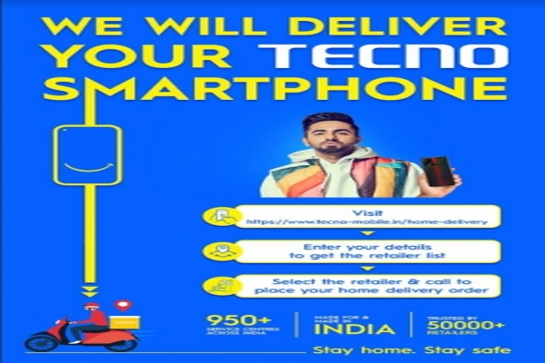 TECNO brings back Doorstep Delivery for safer shopping experience - Gadgets News in Hindi