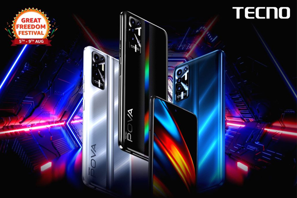 TECNO POVA 2 first sale is now live on Amazon at INR 10499 - Gadgets News in Hindi
