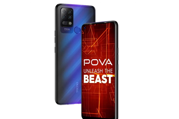 TECNO launches POVA smartphone with 6000mAh battery at Rs 9,999 - Gadgets News in Hindi