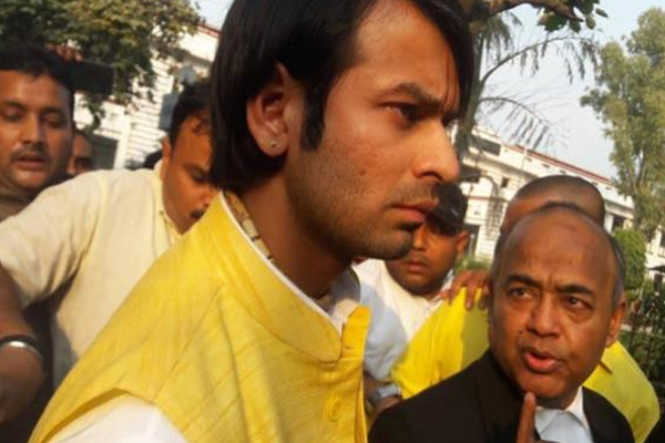 Tej Pratap is ignorant, BJP leader Mayukh says on comparing Nitish to Kansa - Patna News in Hindi