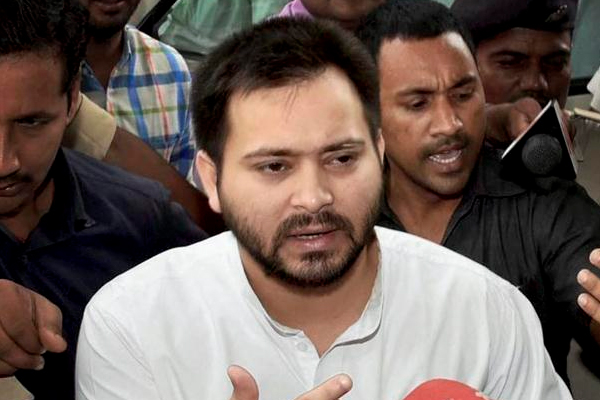 srijan scam in the protection of Nitish: Tejashwi yadav - Patna News in Hindi