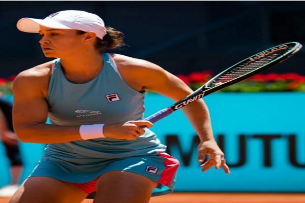 टेनिस : बार्टी मैड्रिड ओपन के फाइनल में पहुंचीं