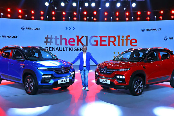 the Sporty, Smart, Stunning Renault KIGER Makes its Debut in India - Automobile News in Hindi
