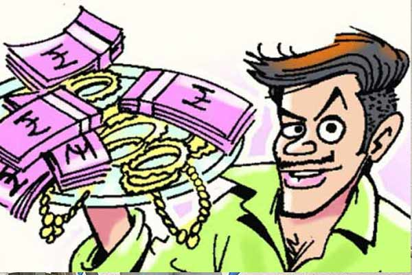 Theft in four dull houses in Jaipur, jewelry worth lakhs of rupees crossed - Jaipur News in Hindi