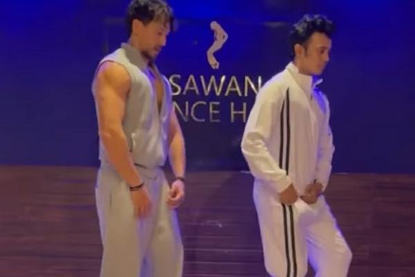 Tiger Shroff dedicates cool dance moves to his dance guru - Bollywood News in Hindi