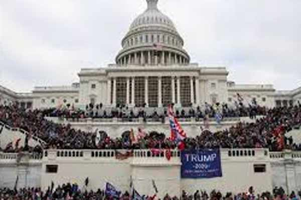 Trump supporters attacked Capitol building, woman killed in shootout - World News in Hindi