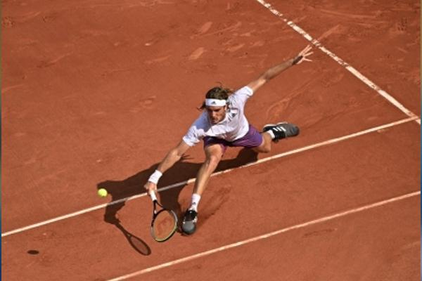 Tennis: Tsitsipas beat Fognini atp Indians Wells - Tennis News in Hindi