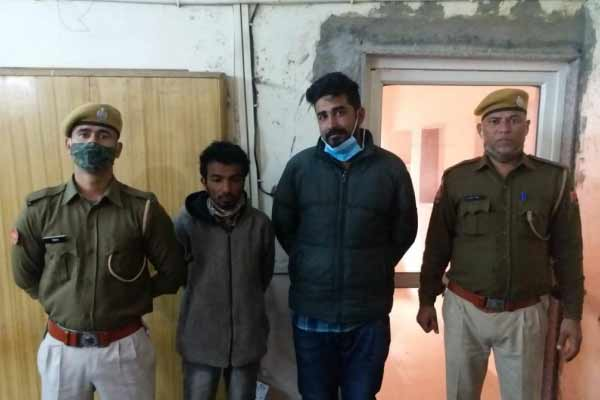 Two inter-state smugglers arrested in Jaipur, 424 grams of charas recovered - Jaipur News in Hindi