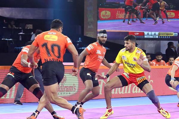 U Mumba defeated Gujarat Fortunegiants - Sports News in Hindi