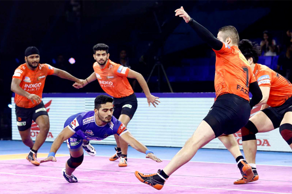 PKL-7: Haryana lost to Mumba in their final match of the league stage - Sports News in Hindi