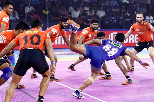 PKL 7: Haryana beat Mumbai 30-27 - Sports News in Hindi