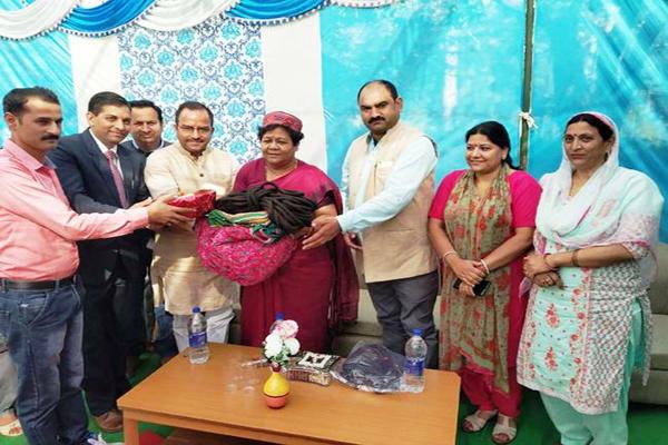 dharamshala news : National Tribal Commission Vice President Anusuiya Uikey listened to problems of people - Dharamshala News in Hindi