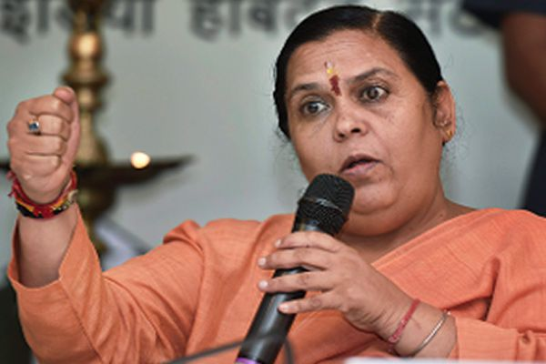 UP Election: Got rapists tortured when I was CM: Uma Bharti - Agra News in Hindi