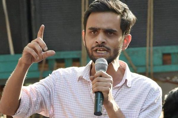 JNU alumnus Umar Khalid arrested in Delhi violence case - Delhi News in Hindi