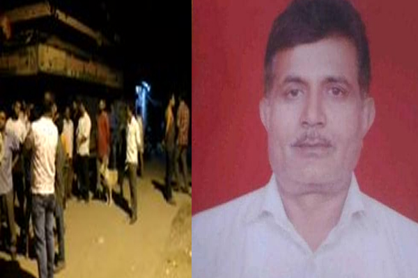 Ghaziabad: A BJP leader Dr BS Tomar was shot dead by unidentified assailants in Dasna - Ghaziabad News in Hindi