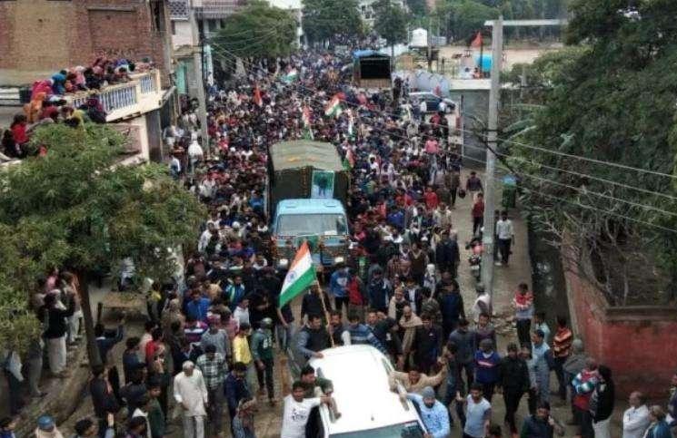 CRPF Constable Funeral in Ghaziabad - Ghaziabad News in Hindi