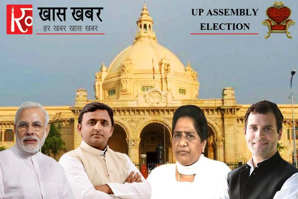 second phase voting continuously in up - Lucknow News in Hindi