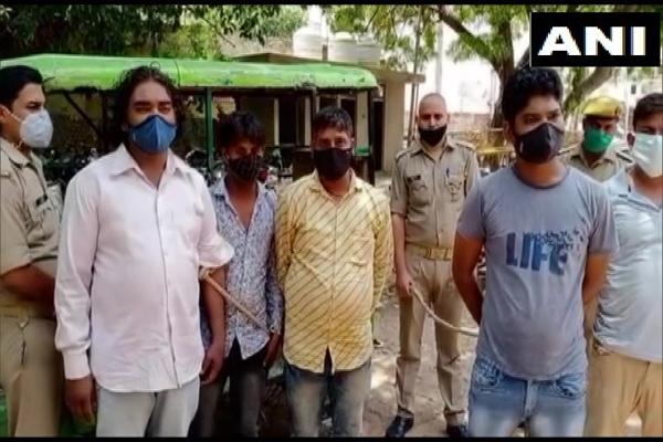आगरा में लगे पाकिस्तान जिंदाबाद के नारे, पांच लोग गिरफ्तार