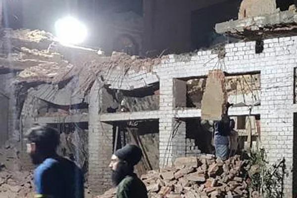उत्तर प्रदेश : अलीगढ़ की खिलौना फैक्ट्री में विस्फोट, 4 मरे, 6 घायल