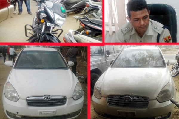 jaipur news : More than 100 four wheelers stole in 16 months from delhi and jaipur - Jaipur News in Hindi