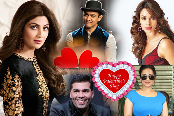 Bollywood celebrities love messages on Valentine Day - Bollywood News in Hindi