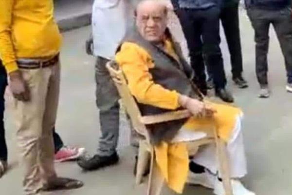Former BJP MLA accused of sexually abusing student - Varanasi News in Hindi