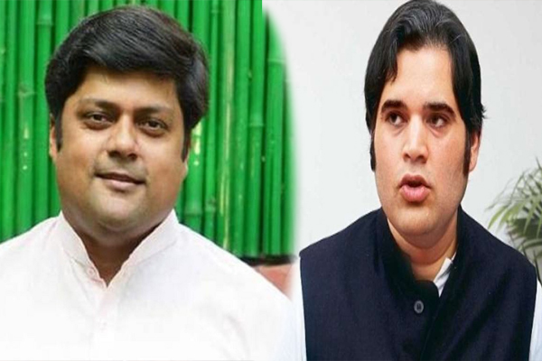 Varun Gandhi was standing next to Dushyant who had gone into exile himself, video posted - Delhi News in Hindi