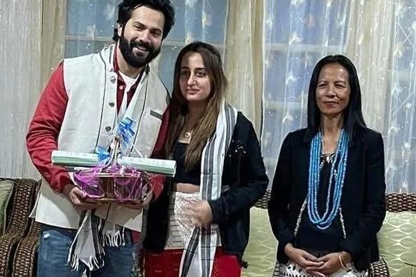 Varun Dhawan and Natasha donate for Arunachal fire victims - Bollywood News in Hindi