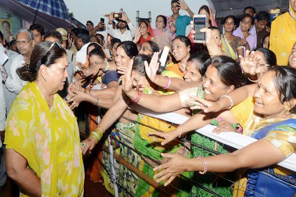 भाजपा के सामने पूर्ववर्ती कांग्रेस सरकार की कुछ भी उपलब्धियां नहीं : CM