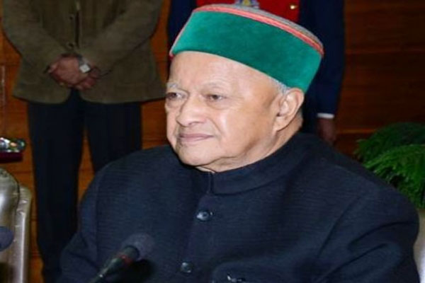 Former Himachal CM Virbhadra Singh again found covid positive - Shimla News in Hindi