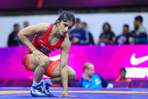 Olympics (Wrestling): Vinesh (Lead-2) out of the race for bronze medal - Sports News in Hindi