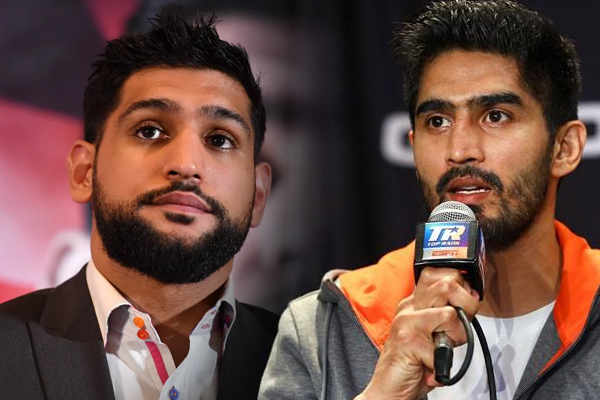 Amir is playing with kids: Vijender Singh - Sports News in Hindi