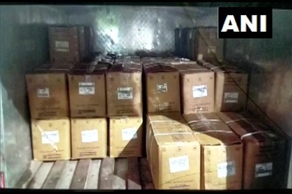 Massive explosives recovered from builder office in Thane, Maharashtra - Thane News in Hindi