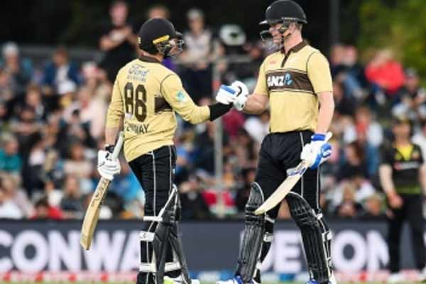 Wellington ODI: New Zealand clean sweep by Conway, Mitchell innings - Cricket News in Hindi