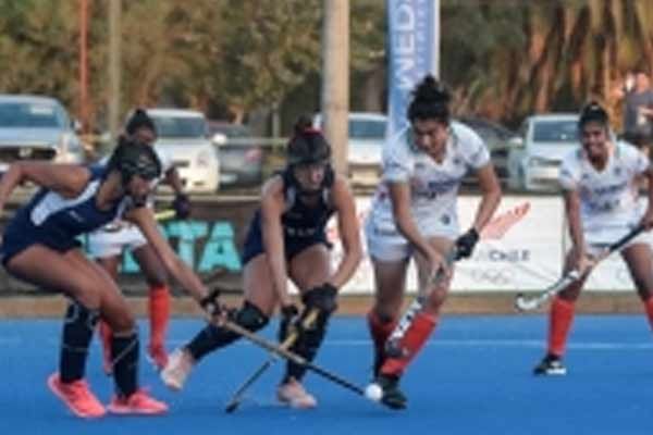 Women hockey: Indian junior team held Chile senior team to a 2-2 draw - Sports News in Hindi