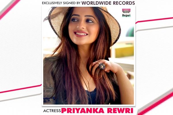 Worldwide Records signs actress Priyanka Revdi - Bollywood News in Hindi