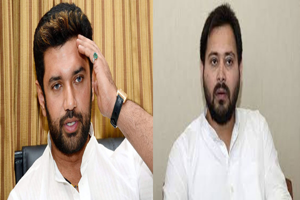 After the discord in LJP, Tejashwi casts his strings on the lamp, the possibility of a new equation in Bihar - Patna News in Hindi