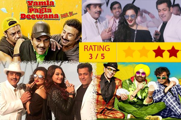 Yamla Pagla Deewana Phir Se movie review - Movie Review in Hindi