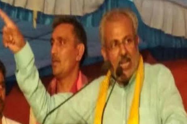 यूपी के मंत्री रघुराज सिंह बोले,मोदी विरोधी नारे लगाने वालों को जिंदा दफन कर देंगे
