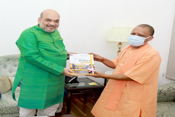 UP CM Yogi discusses the political situation in Uttar Pradesh with Shah and Apna Dal chief - Delhi News in Hindi