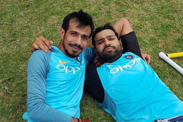 That is my little boy Chahal when he is fielding: Rohit shares fun post - Sports News in Hindi