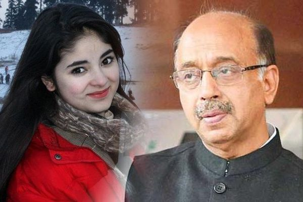 new controversy: dangal girl zaira wasim engages in twitter war with sports minister vijay goyal - India News in Hindi
