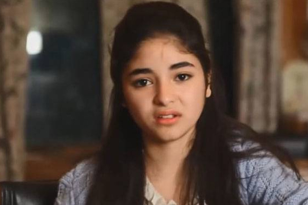 shiv sena and other actors questions zaira wasim decision to quit acting - India News in Hindi