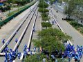 A 4 kilometre line of sandwiches in South Africa, set Guinness World Record