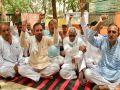 Farmers encompass in Bhiwani, Mini secretariat Bhiwani